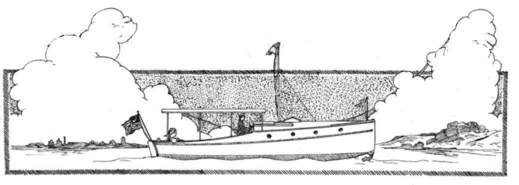 Dreamboat pen & ink