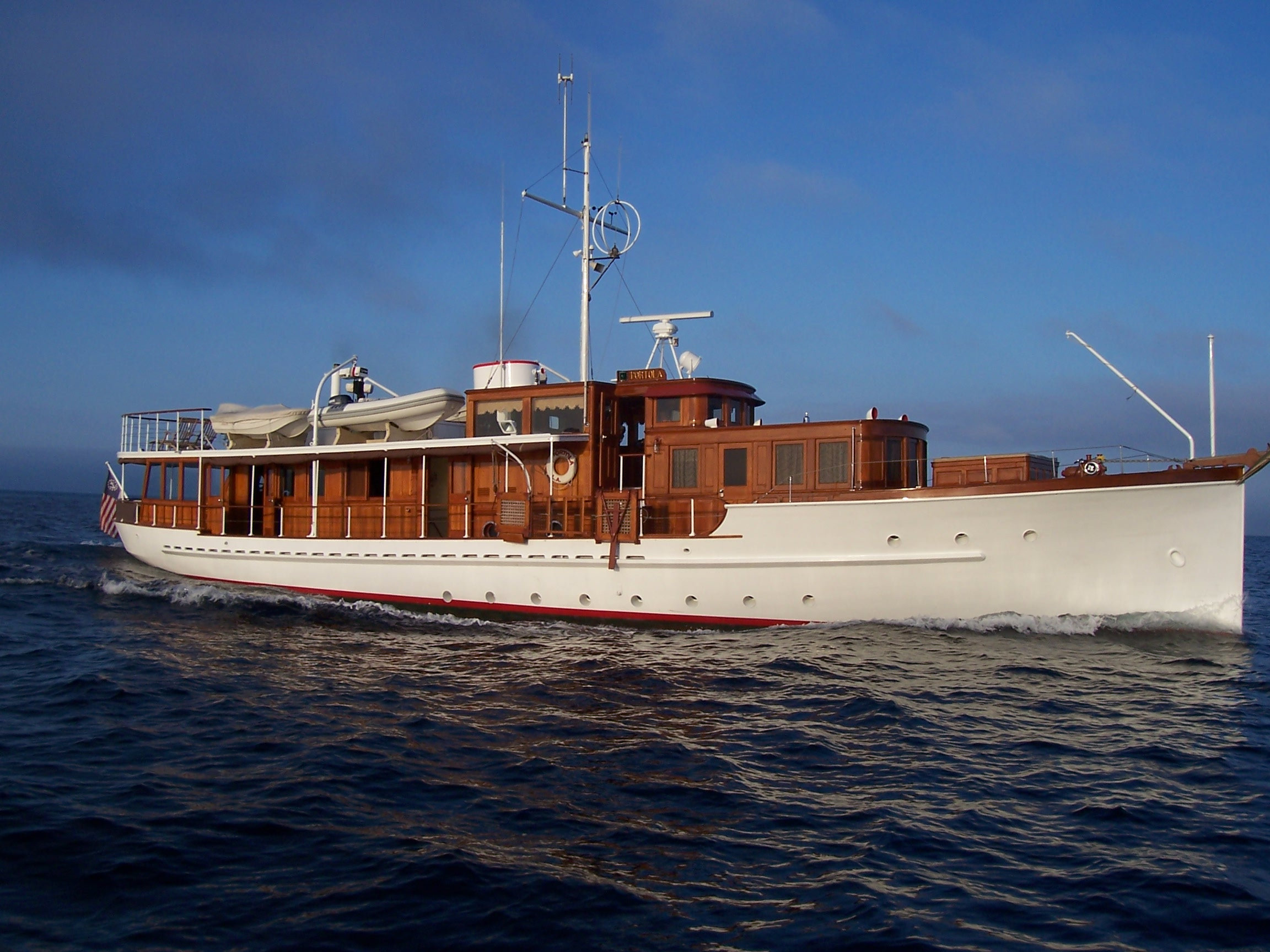 Classic yacht association classic yacht spotter for Vintage motor yachts for sale